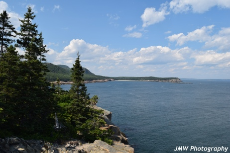 View from Otter Cliffs- Acadia National Park