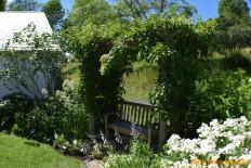Garden Bench- Somesville, ME