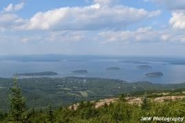 View from Cadiallac Mtn Summit- Acadia National Park