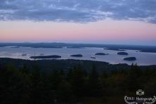 Summit of Cadillac Mtn- Acadia National Park